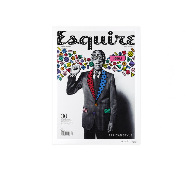 Re.Cover - Esquire Nelson Mandela