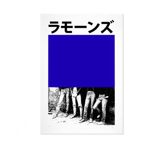 One, Two, Three, Four... (Yves Klein)