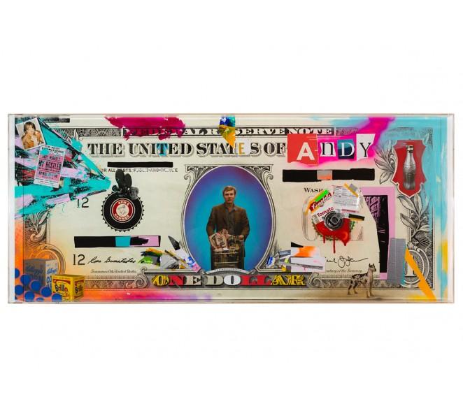 BIG ONE DOLLAR BILL - ANDY