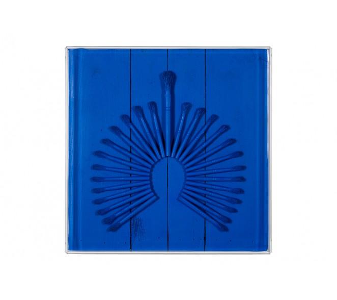 Cocar Monochrome Blue