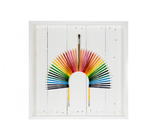 Cocar Arco-íris - Faber Castell