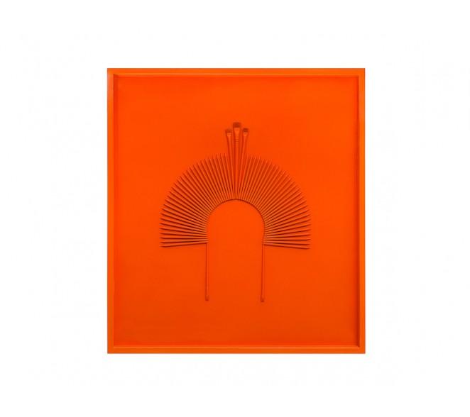 Cocar Monochrome Laranja Holanda