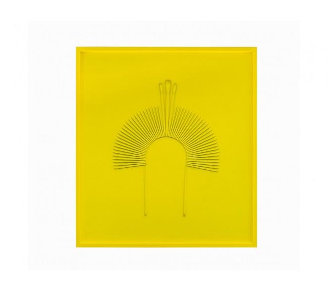 Cocar Monochrome Amarelo Limão