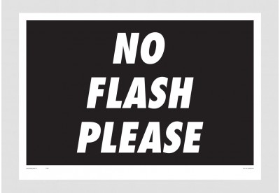 Print Felipe Morozini - No Flash Please