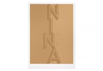 Print Gabriel Sáez - Nina Simone at Carnegie Hall