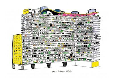 Print Filipe Jardim - Edifício Bretagne São Paulo