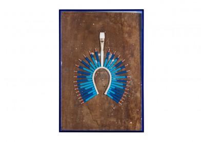 Cocar Tribos Azul