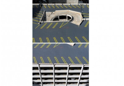 Díptico Estacionamento