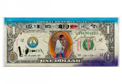 BIG ONE DOLLAR BILL - JIMI HENDRIX