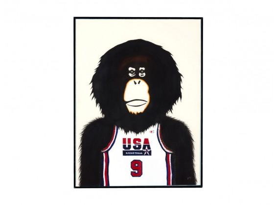 Michael - Série Monkey NBA 2018