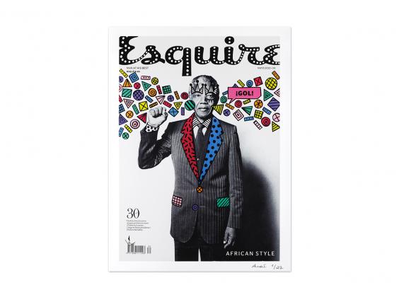Re.Cover - Esquire Nelson Mandela