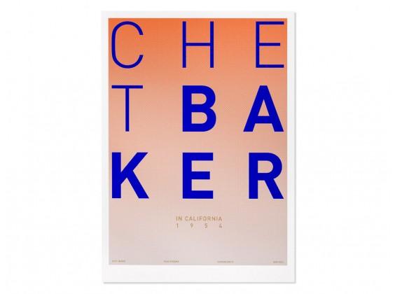 Print Gabriel Sáez - Chet Baker in California