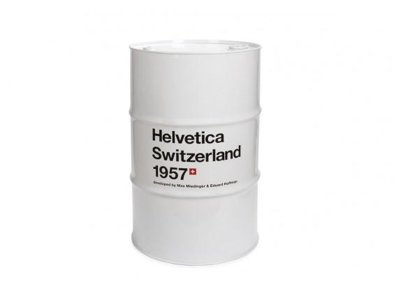 Barril Helvetica Branco