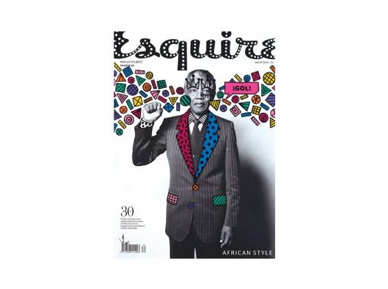 Print Ana Strumpf - Esquire Nelson Mandela