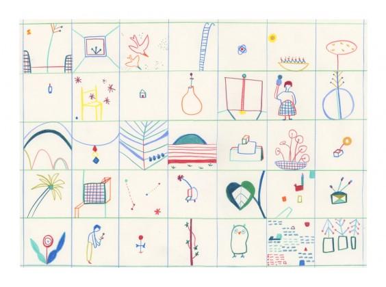 Print Sandra Jávera - Grid 1