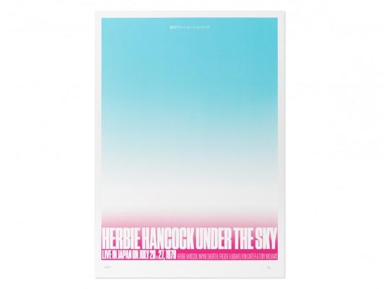 Print Herbie Hancock Under the Sky