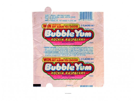 Bubble Yum Rockin' Raspberry - 50 cm x 40 cm