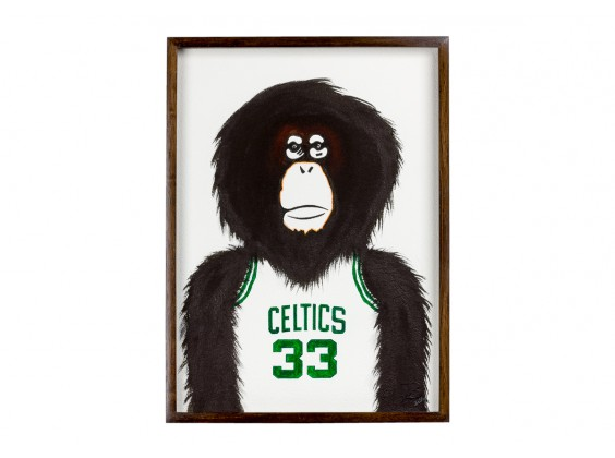 Monkey NBA - Celtics