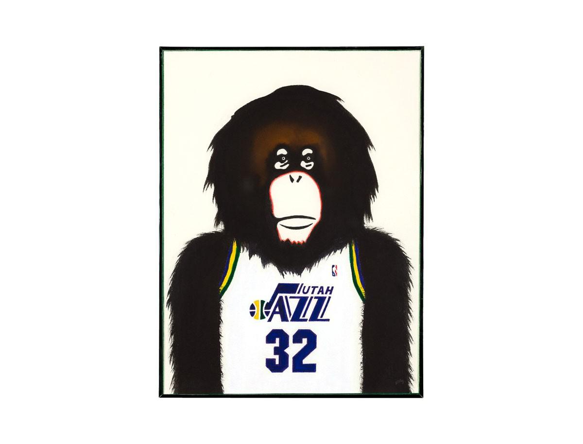 Malone - Série Monkey NBA 2018