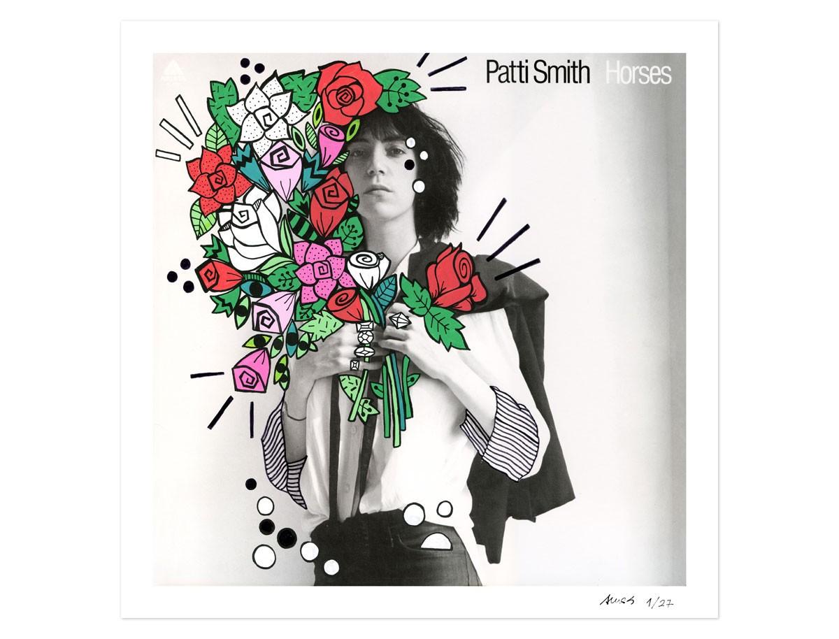 Print Patti Smith Horses
